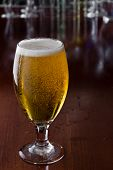 Cerveja dourada