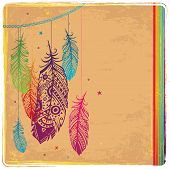 pic of dream-catcher  - Ethnic Dream catcher - JPG
