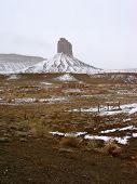 Chimney Rock Snow