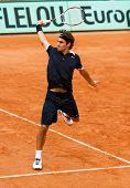 Roger Federer At Roland Garros 2008