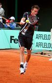 French Nicolas Mahut At Roland Garros