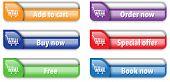 Online Store/shop Web Interface Elements 2