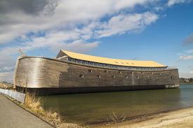 picture of noah  - Full size wooden replica of Noah - JPG
