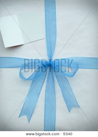 Blue Bow poster