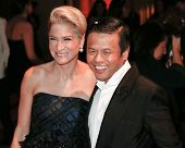 NEW YORK-SEP 17: Investor Julie Macklowe and designer Zang Toi attend the 14th annual New Yorkers Fo