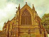 Retro Looking St Philip Cathedral, Birmingham
