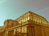 Retro Looking Bank Of England