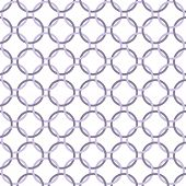 Purple And White Interlaced Circles Textured Fabric Background