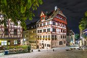 Albrecht Durer House in Nuremberg, Germany.