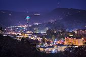 stock photo of view from space needle  - Gatlinburg - JPG