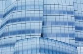 Ice Blue Architectural Abstract