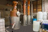 Microbrewery Distillery Still