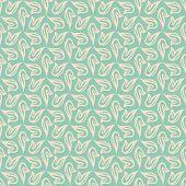 delicate vector flourish seamless pattern