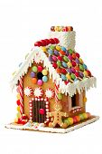 image of gingerbread man  - Gingerbread house - JPG