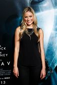NEW YORK-OCT 1: Actress  Katrina Bowden attends the 'Gravity' premiere at AMC Lincoln Square Theater