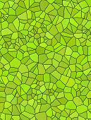 Grunge Green Mosaic, Green Background