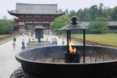 Incense Burner At Todaiji Temple