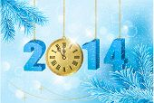image of happy new year 2014  - Happy new year 2014 - JPG