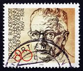 Postage Stamp Germany 1982 Gustav Heinemann, Politician