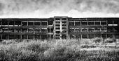 Old Ruinous Factory Panorama
