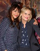 LOS ANGELES - OCT 16:  Rashida Jones, Amy Poehler at the