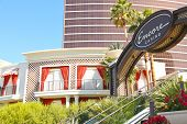 Entrance In Hotel And Casino  In Las Vegas, Nevada.