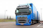 Blue Volvo Fh16 750 Trailer Truck