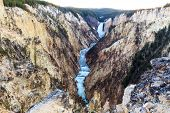 Grand Canyon At Yellowstone