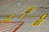 Marking On Taxiway