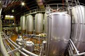 Fisheye View Of A Brewery