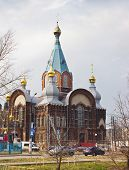 Temple In Honour Of The Vladimir Icon Of The Most Holy Theotokos. Nizhny Novgorod