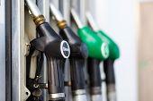 Gas pump nozzles