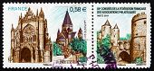 Postage Stamp France 2011 View Of Metz