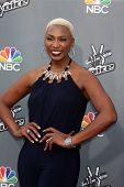 LOS ANGELES - APR 15:  Sisaundra Lewis at the NBC's
