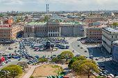View of the Mariinsky palace. Saint-Petersburg