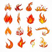 Fire Icon Sketch