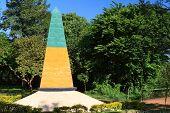 Obelisk Triple Frontier, Brazilian Side, Brazil