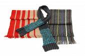 Man winter scarves.