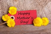 Banner With Happy Mothers Day
