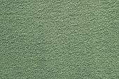 Green Texture Of Fleecy Fabric