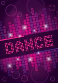 Nightclub Dance Background Design