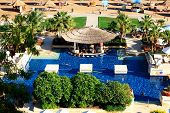 Sharm El Sheikh, Egypt -  December 5: The Tourists Are On Vacation At Popular Hotel On December 5, 2