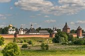 Monastery of St. Euthymius at Suzdal, Russia
