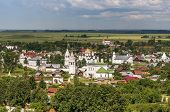 Pokrovskiy monastery in Suzdal.The Golden Ring of Russia.