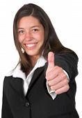 Mulher de negócios - Thumbs Up