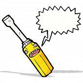 cartoon screwdriver