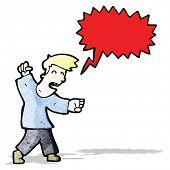 angry man shouting cartoon