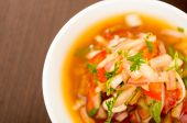 agrio sauce for traditional ecuadorian plates