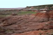 Painted Desert National Park In August - Arizonad