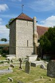 St.Wulfrans Church. Ovingdean, Sussex, Uk